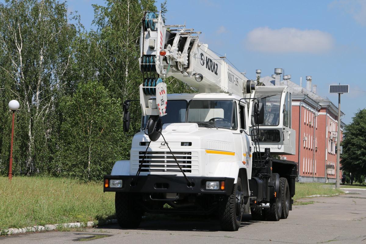 25-тонний автокран МКТ-25 на базі КрАЗ- 65053 працюватиме в ТОВ «Феррострой»