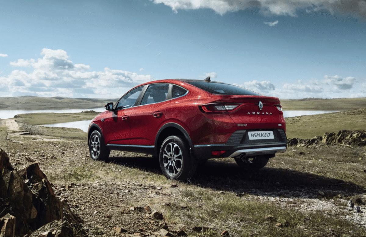 В Україні презентували купе-кросовер Renault Arkana