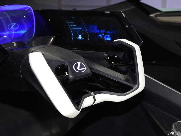 На Пекинском автошоу представлено концепт-кар электромобиля Lexus LF-30