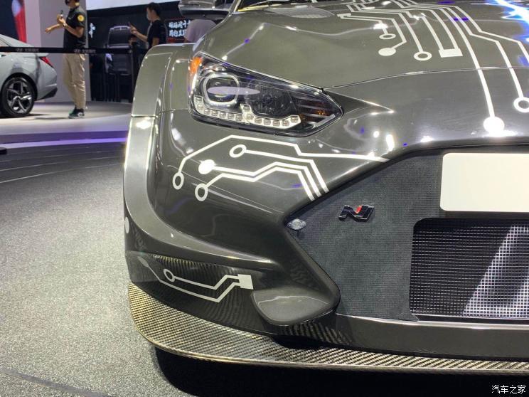 Hyundai представил 810-сильный электрический хот-хэтч
