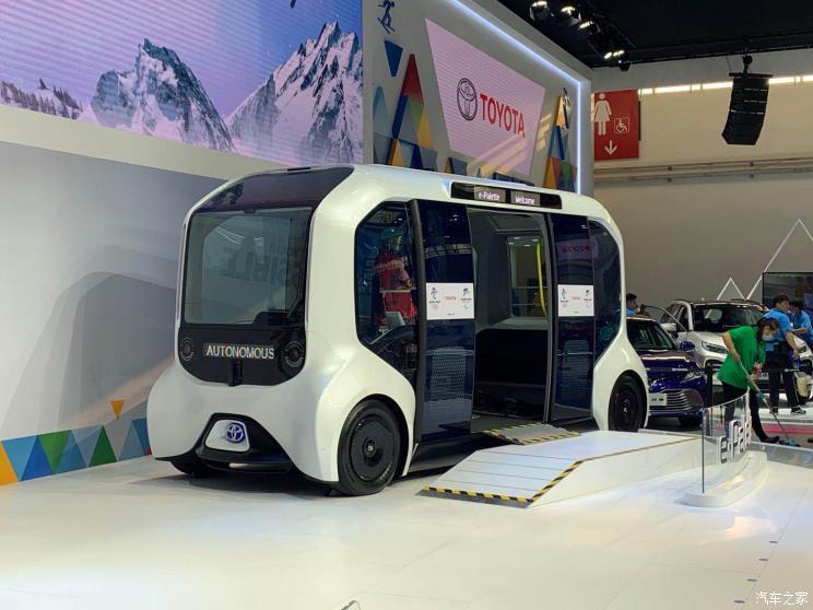 На автосалоне в Китае официально дебютировала Toyota e-Palette