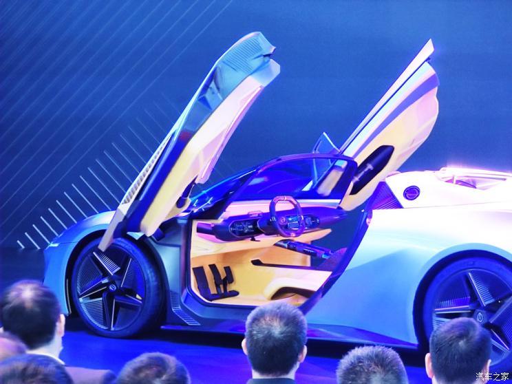 Концептуальный электрический родстер GAC Enpulse на Пекинском автосалоне 2020
