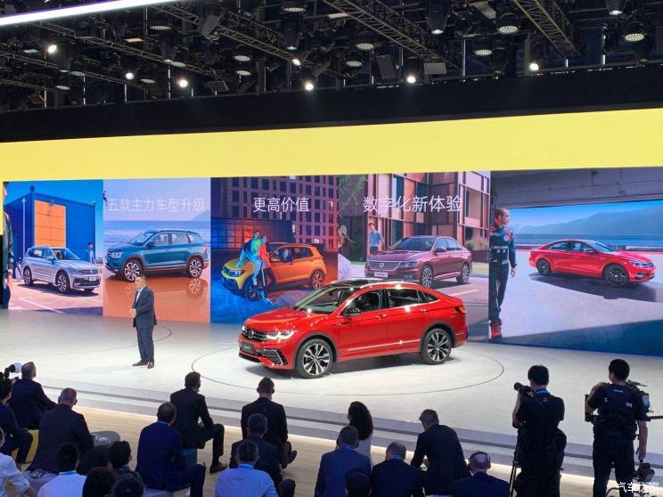 Новинка від Volkswagen - крос-купе Tiguan X презентована в Пекіні