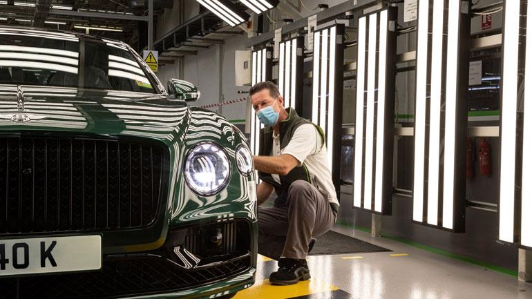 Компания Bentley выпустила 40-тысячный Flying Spur