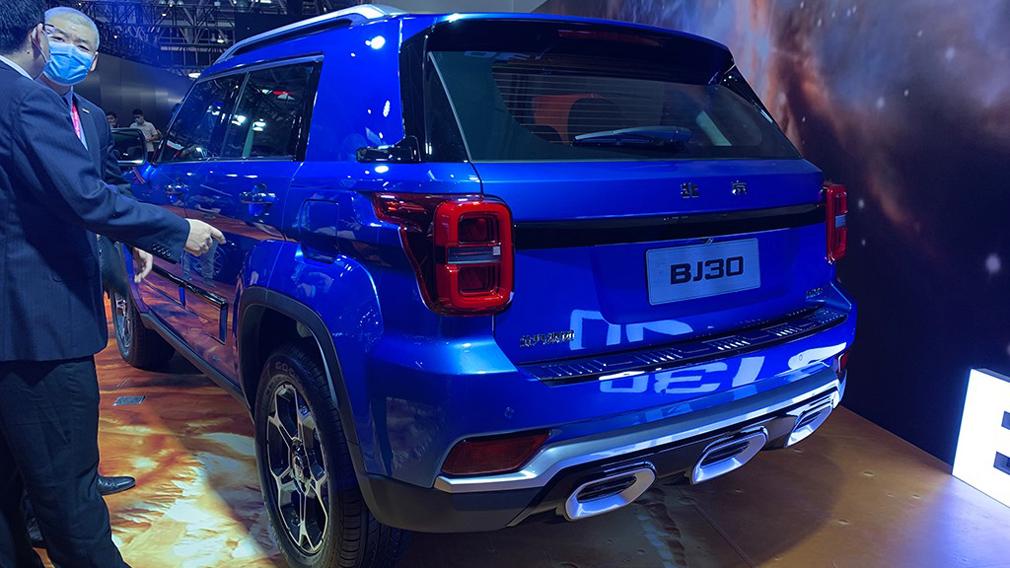 Beijing Offroad показала на Пекінському автосалоні позашляховик BJ30 в стилі Jeep