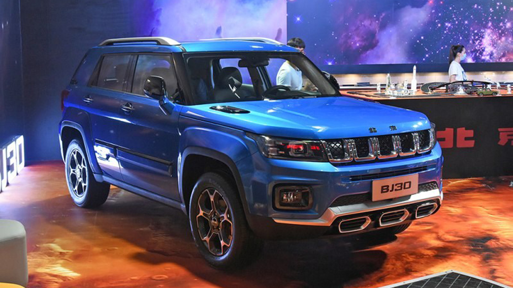 Beijing Offroad показала на Пекинском автосалоне внедорожник BJ30 в стиле Jeep