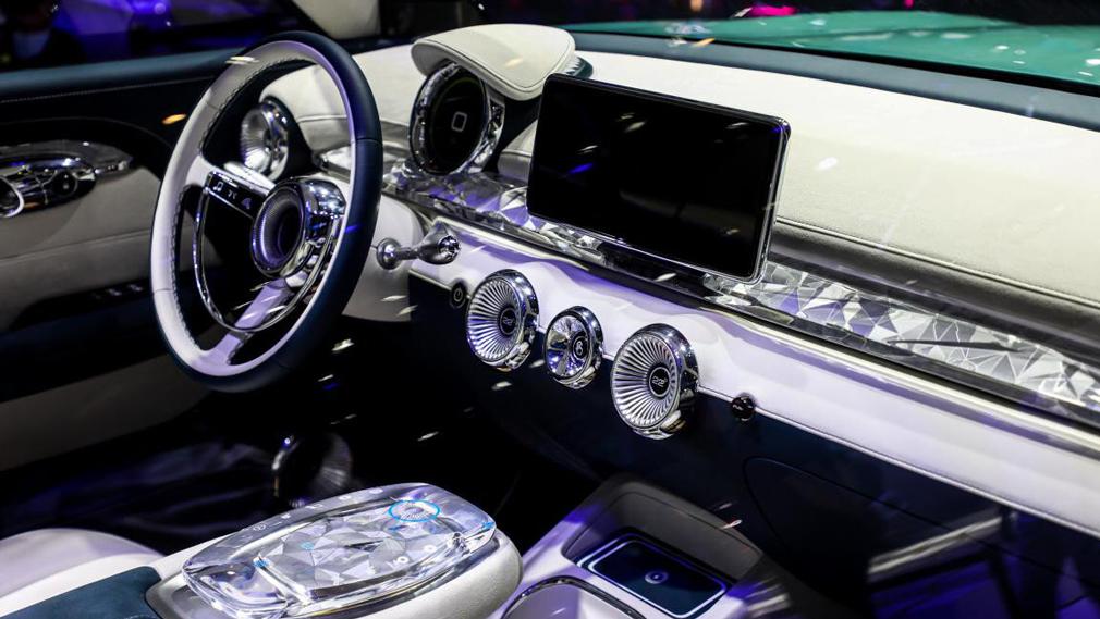 Great Wall Motor презентовал на автосалоне в Пекине новый концептуальный седан Chaopai