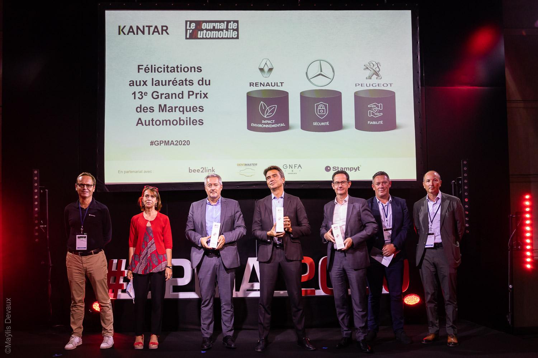 Peugeot получает приз за надежность в Гран-при автомобильных брендов 2020