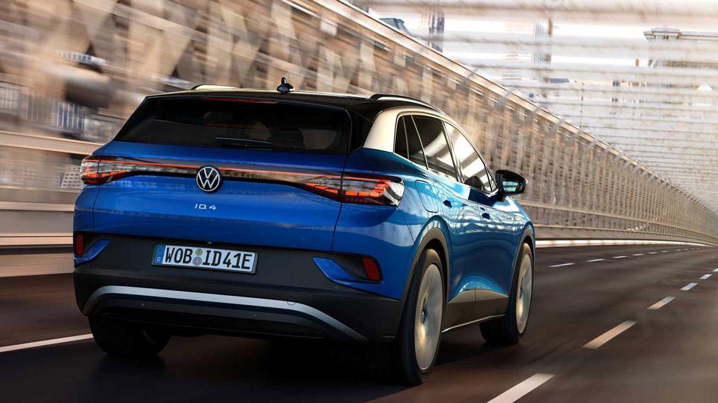 Volkswagen представила электрический кроссовер ID.4