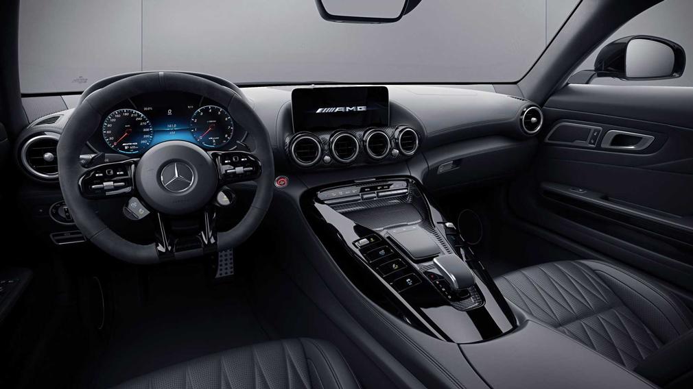 Компанія Mercedes-Benz представила оновлену базову модифікацію спорткара AMG GT