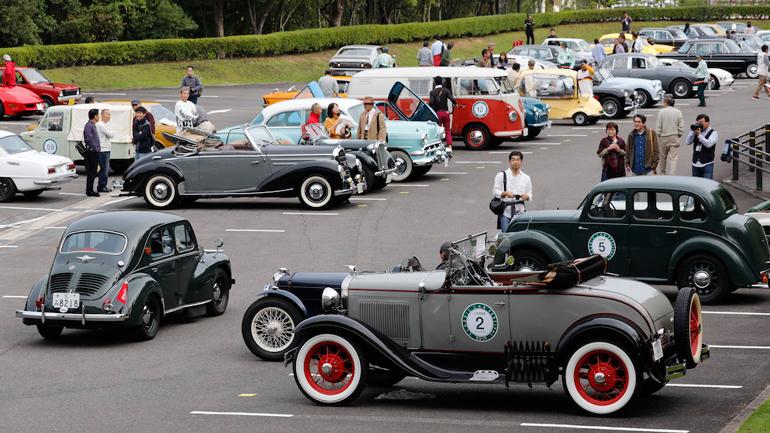 В Автомобильном музее Toyota пройдет 31-й Фестиваль классических автомобилей