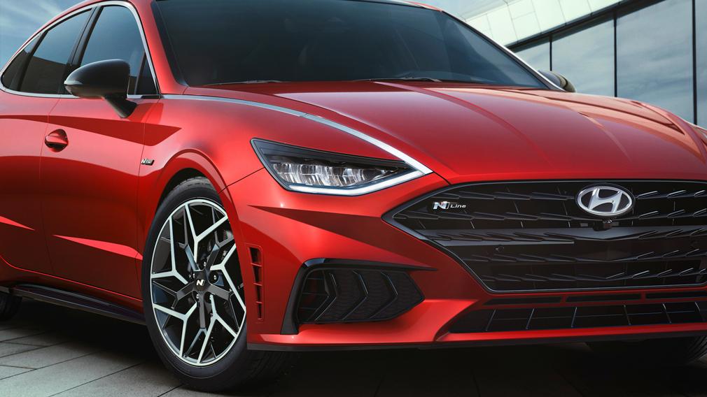 Состоялся официальный дебют самой быстрой Hyundai Sonata N-Line