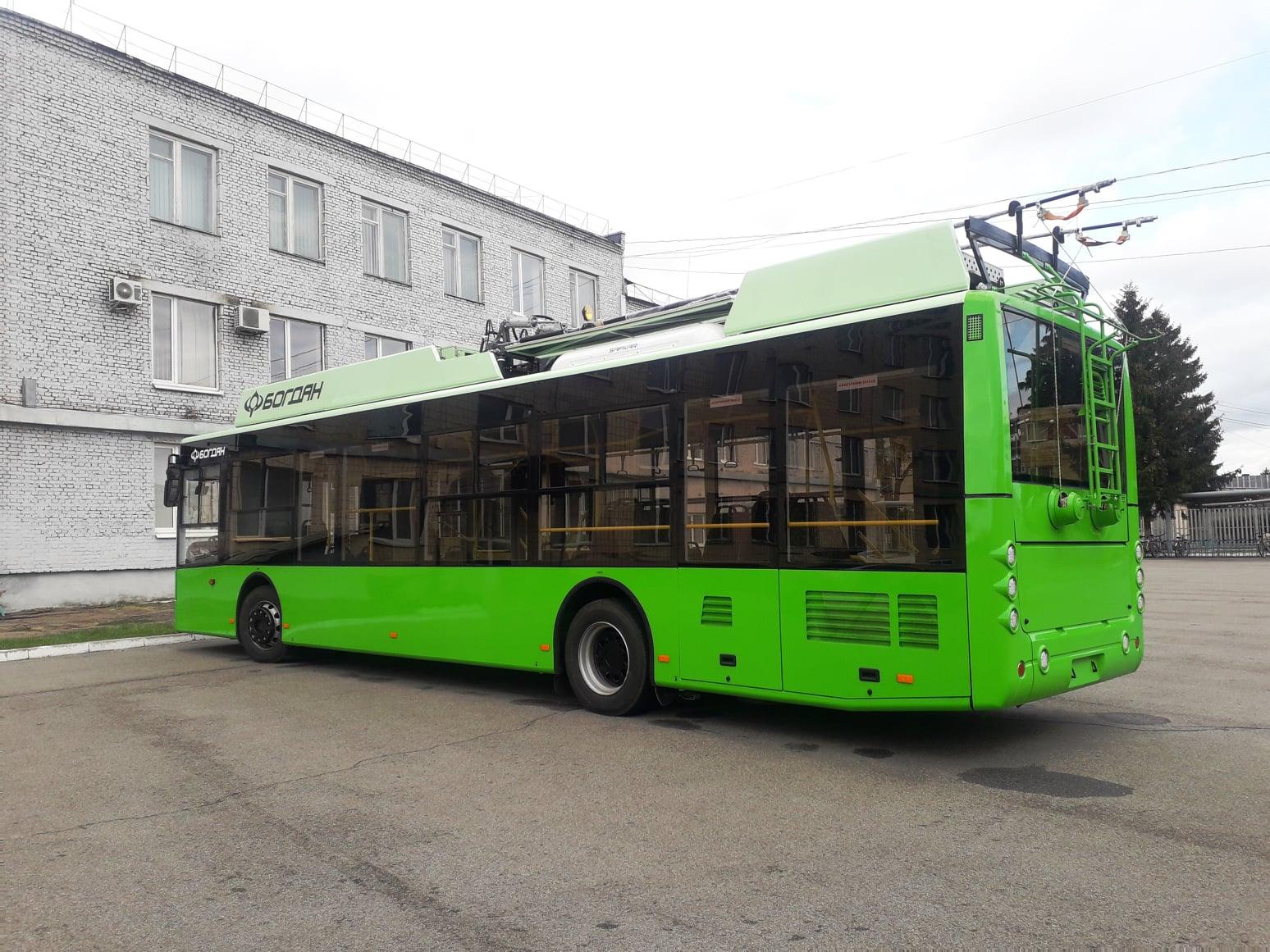 Харьков тестирует новые тролейбусы полученные по кредиту ЕИБ