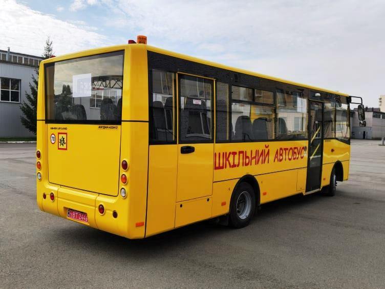 Волынь получит 15 новых школьных автобусов