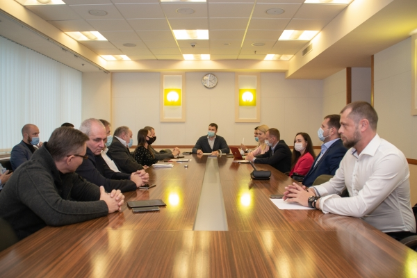 Заседание Рабочей группы по развитию электротранспорта в Украине