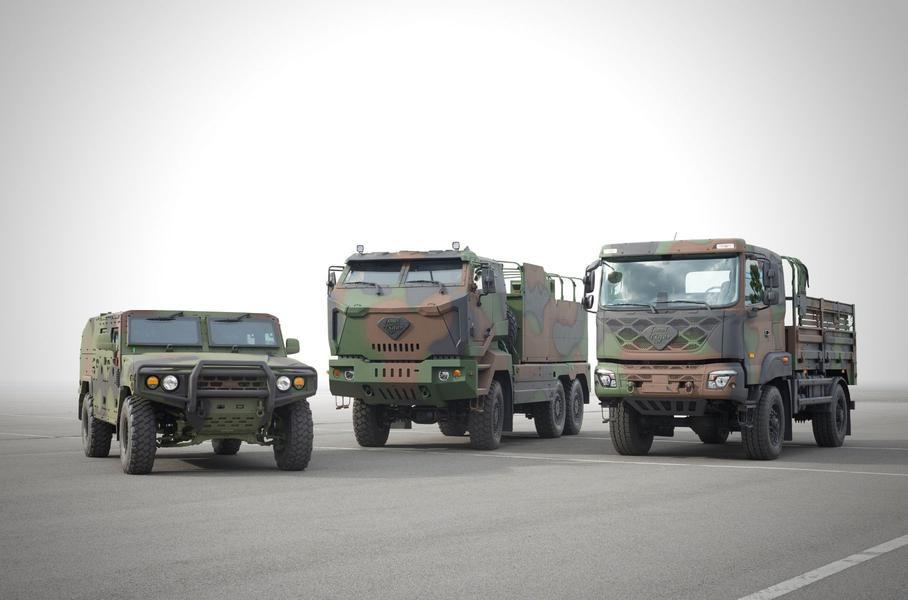 Новое поколение военных вездеходов от Kia Motors