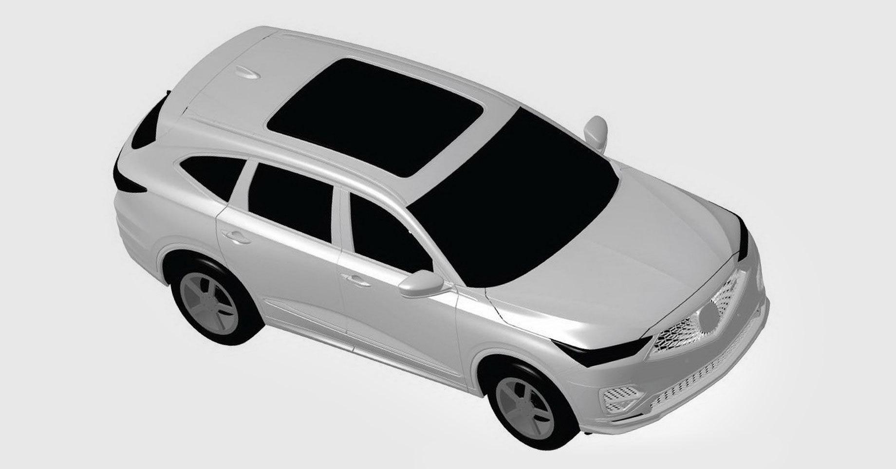 Новая Acura MDX дебютирует как прототип
