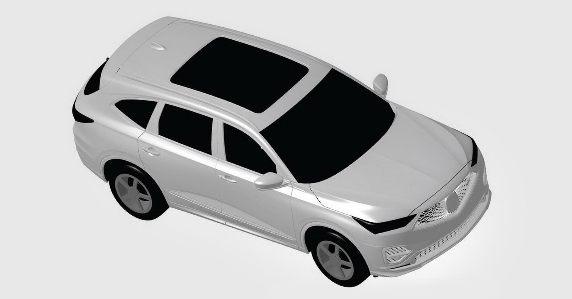 Нова Acura MDX дебютує як прототип