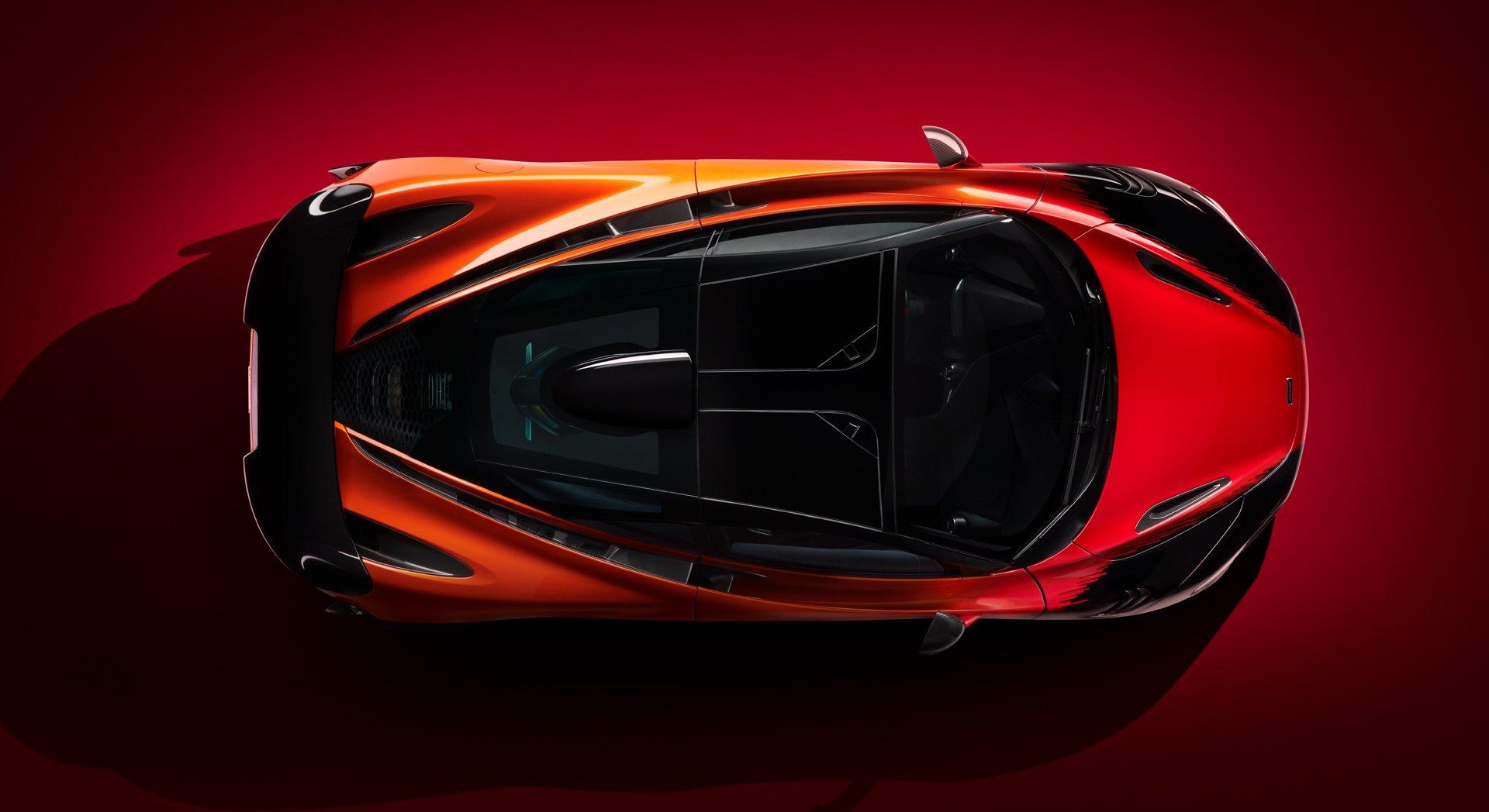 McLaren представив суперкар McLaren 765LT в новій спецверсії Strata Theme