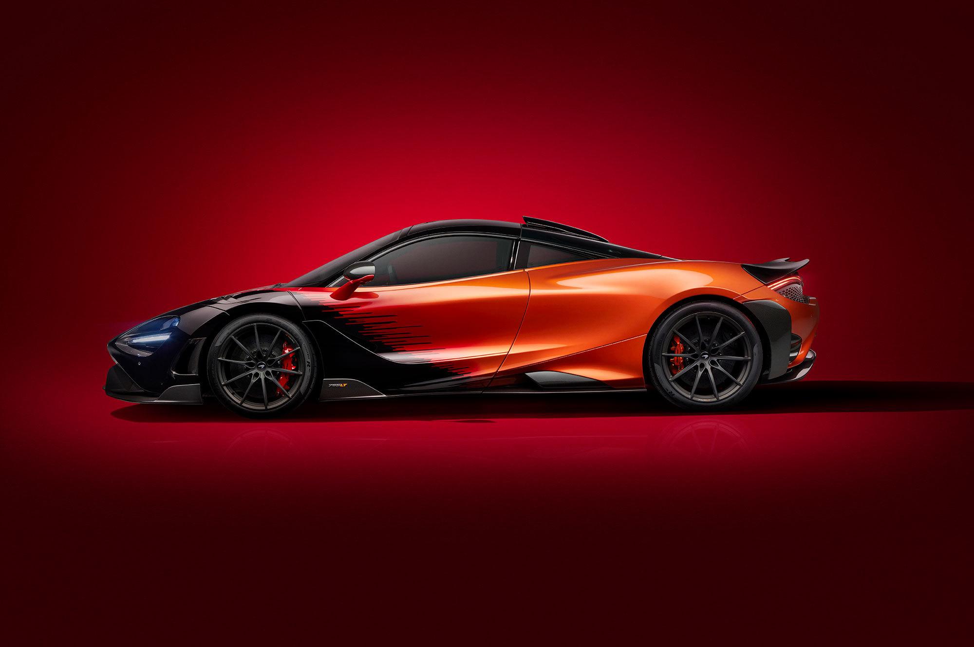 McLaren представил суперкар McLaren 765LT в новой спецверсии Strata Theme