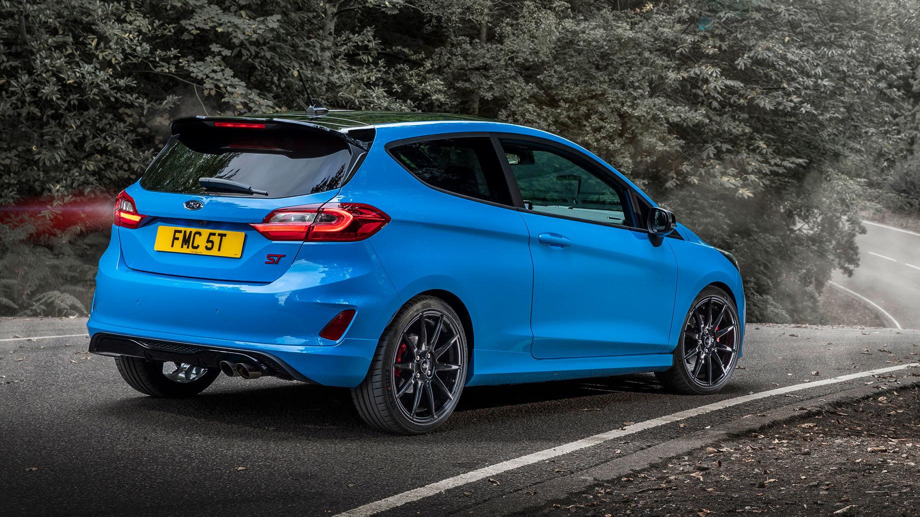 Ford выпустил лимитированную серию Fiesta ST Edition
