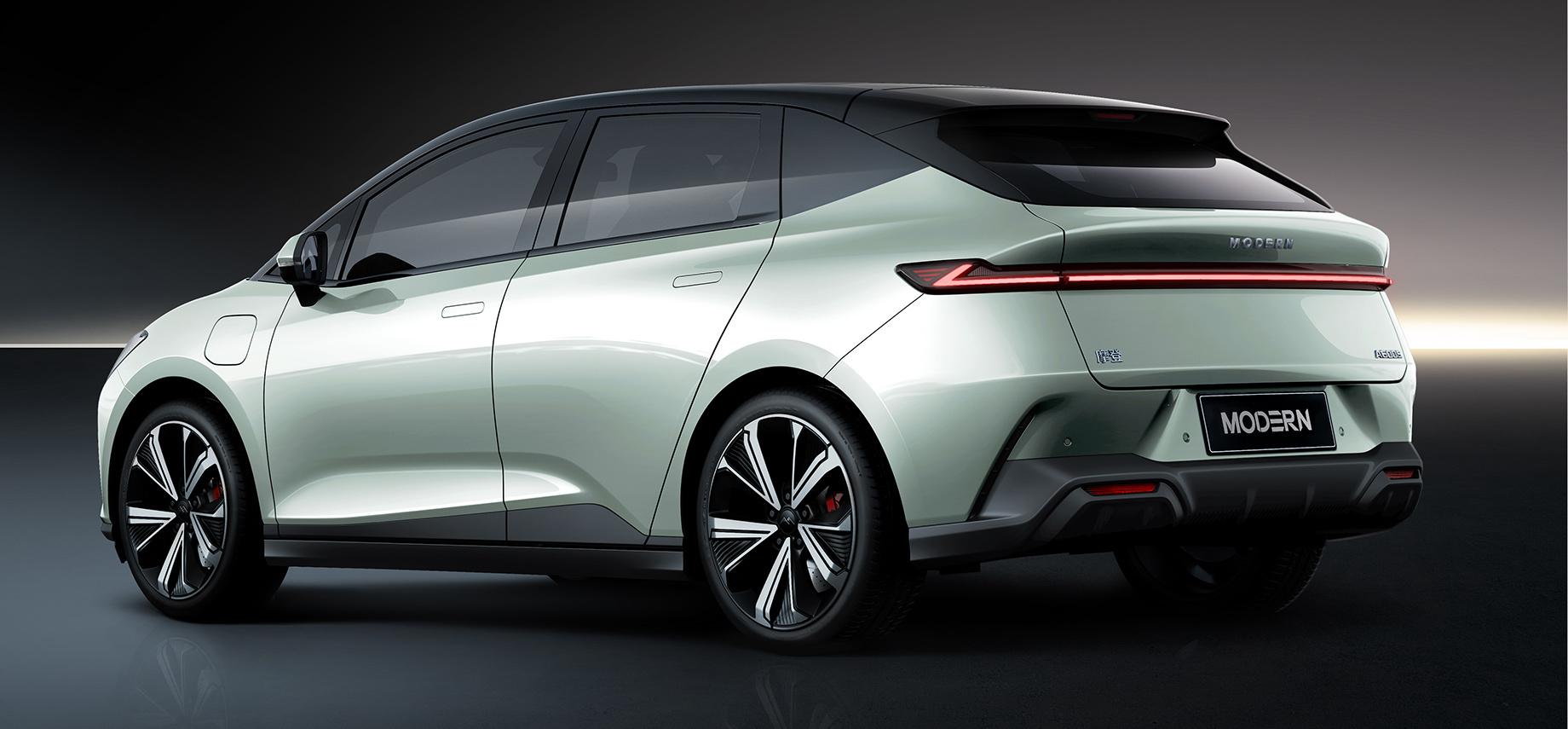Modern Auto представила свою первую модель — хэтчбек Modern A