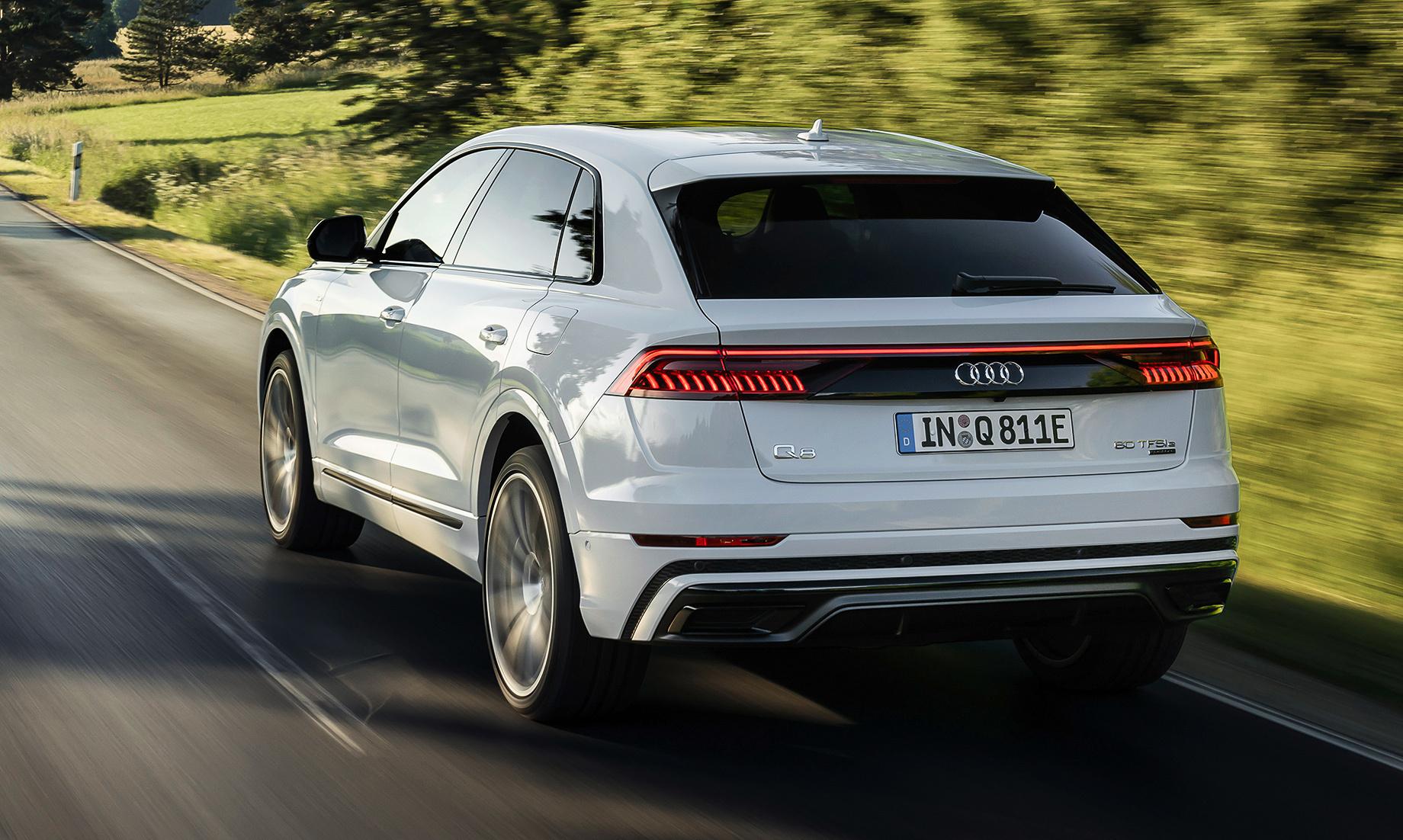 Розкрито характеристики гібрида Audi Q8 TFSI e quattro