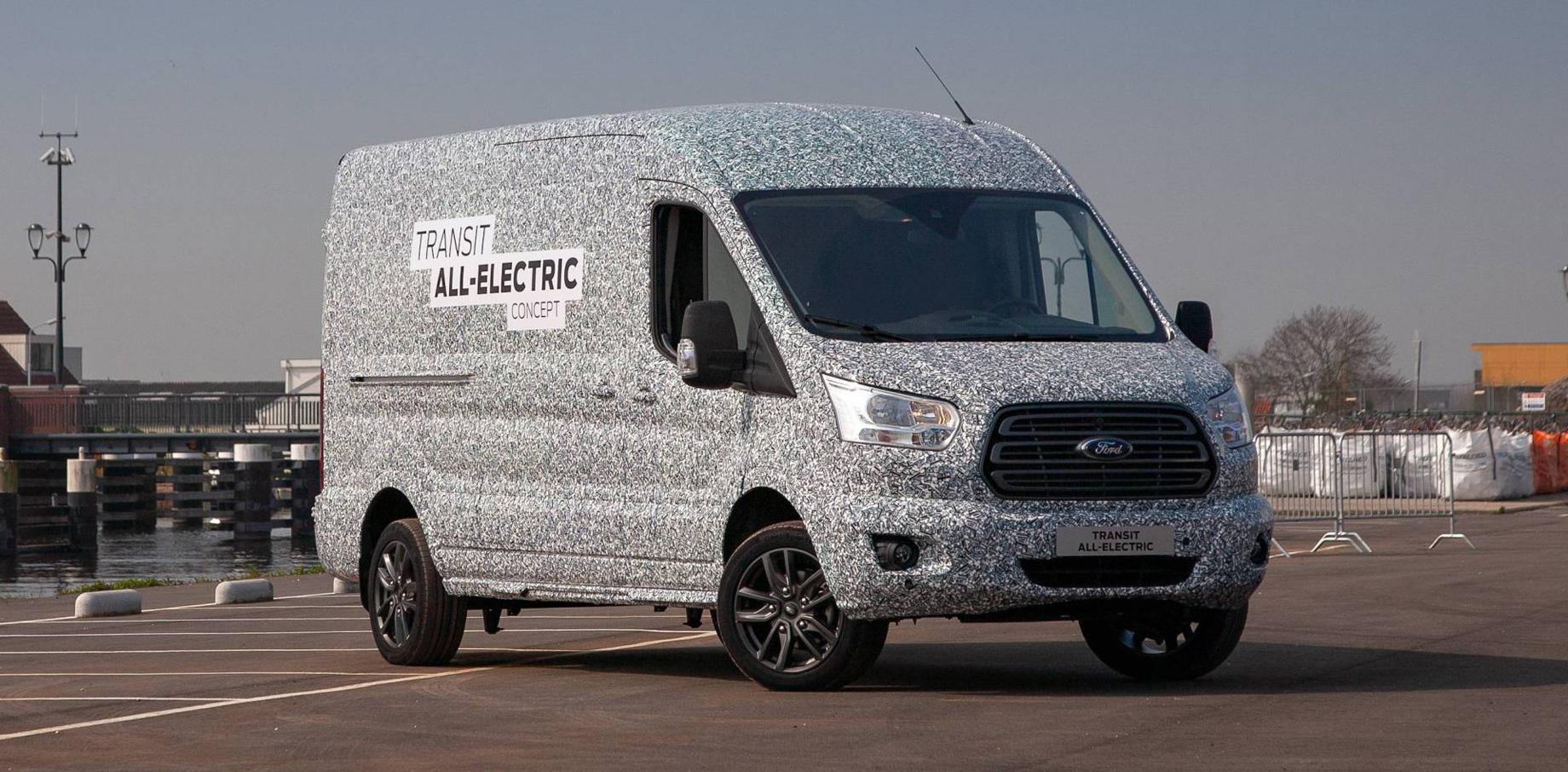 Ford Motor Company анонсировал полностью электрический Transit