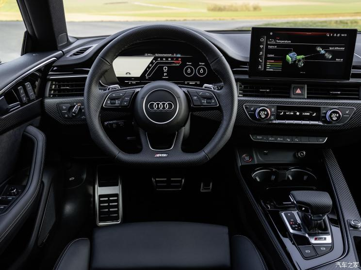 Audi офіційно представила нову модель RS5 Sportback