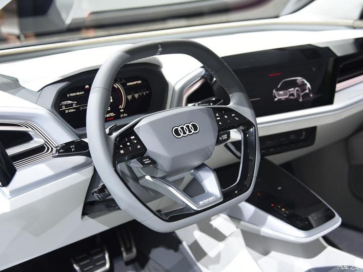 Audi представил свое новое полностью электрическое семейство e-tron