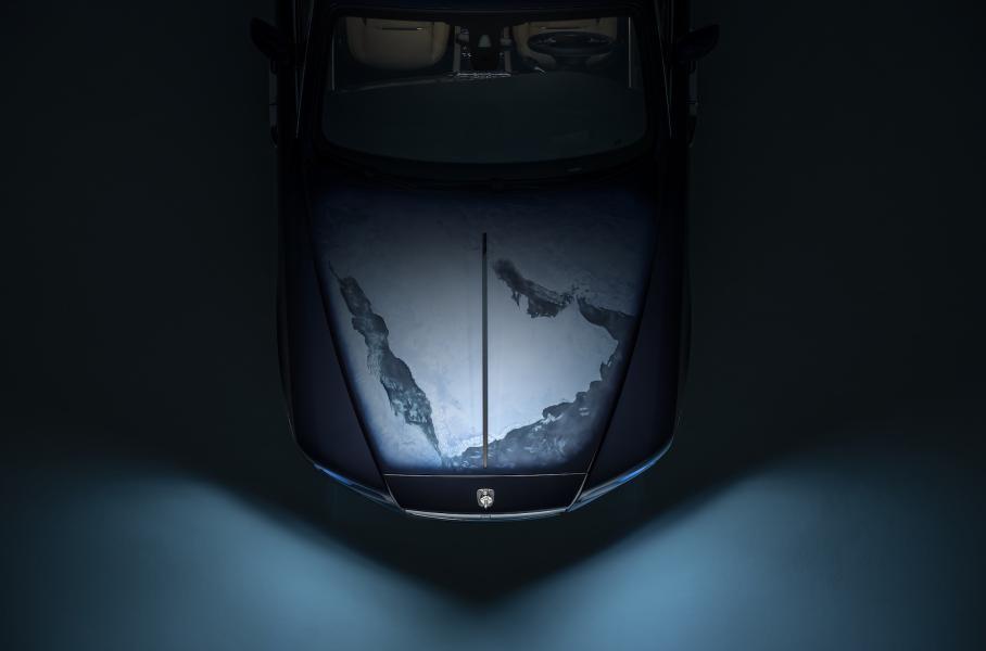 Особливу версію Rolls-Royce Wraith присвятили Сонячній системі