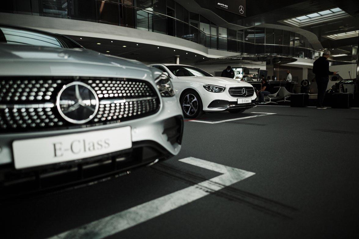 В Украине презентовали новый Mercedes-Benz E-Class (Видео)