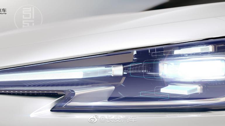 Changan Automobile представили тизеры нового UNI-V