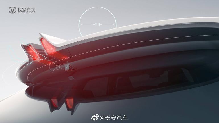 Changan представив тизер нового кросовера