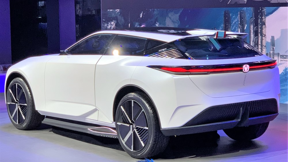 Концепт Changan Vision-V автосалоне в Пекине