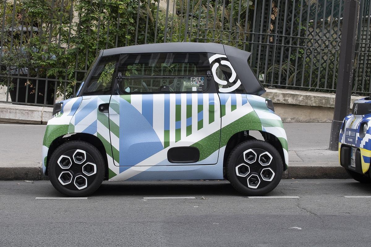 Citroën Ami - 100% Ëlectric отримав 20 дизайнерських образів