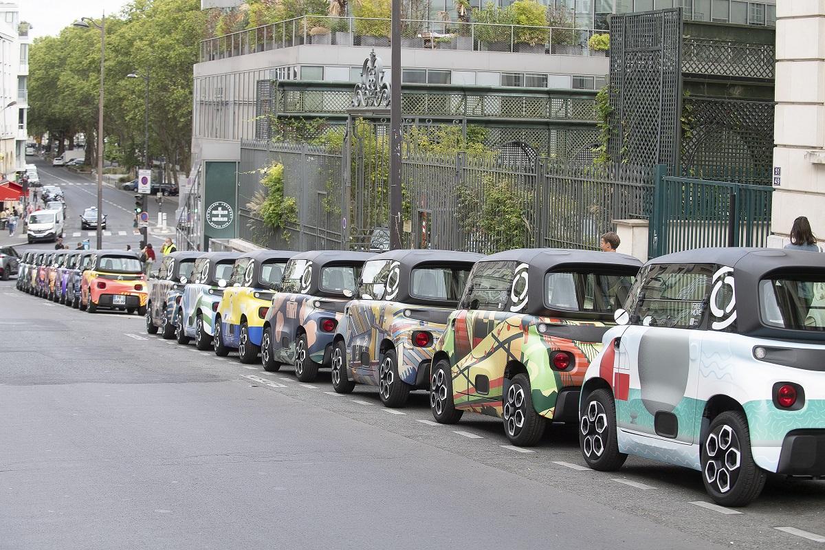 Citroën Ami - 100% Ëlectric получил 20 дизайнерских образов