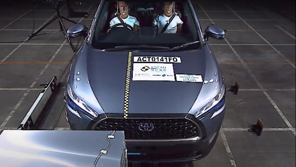 Кросовер Toyota Corolla Cross перевірили на краш-тесті