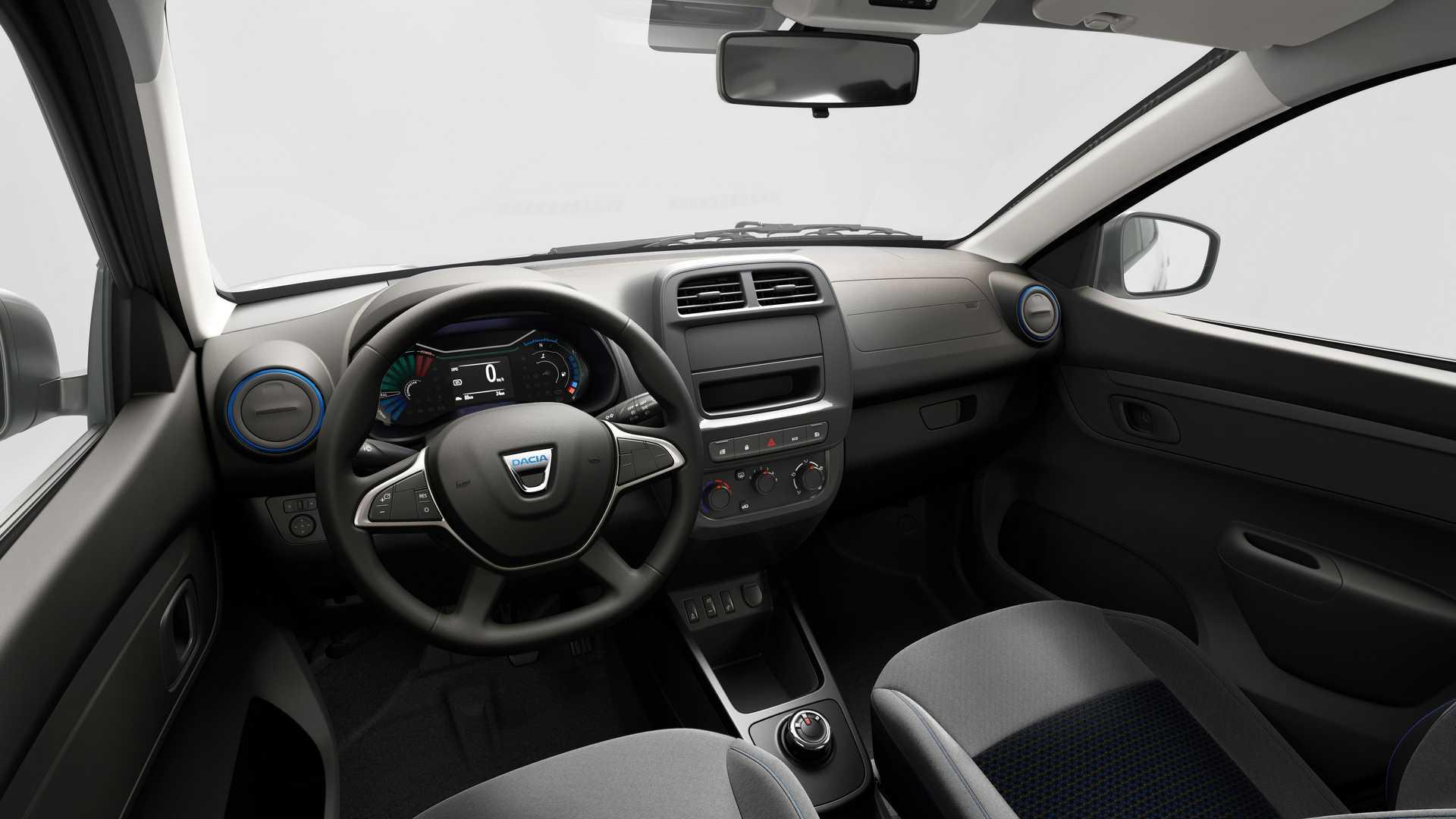 Румыны представили дешевый электромобиль Dacia Spring
