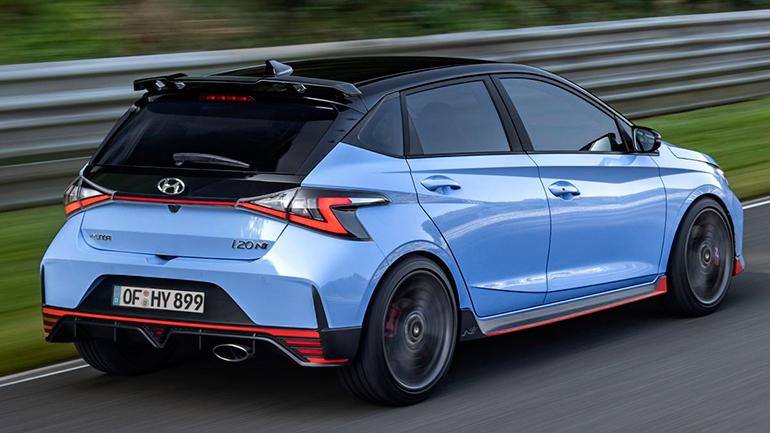 Hyundai официально представил самый быстрый i20 N