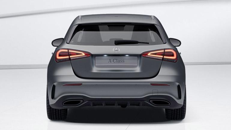 Представлений новий Mercedes A-Class Exclusive Edition