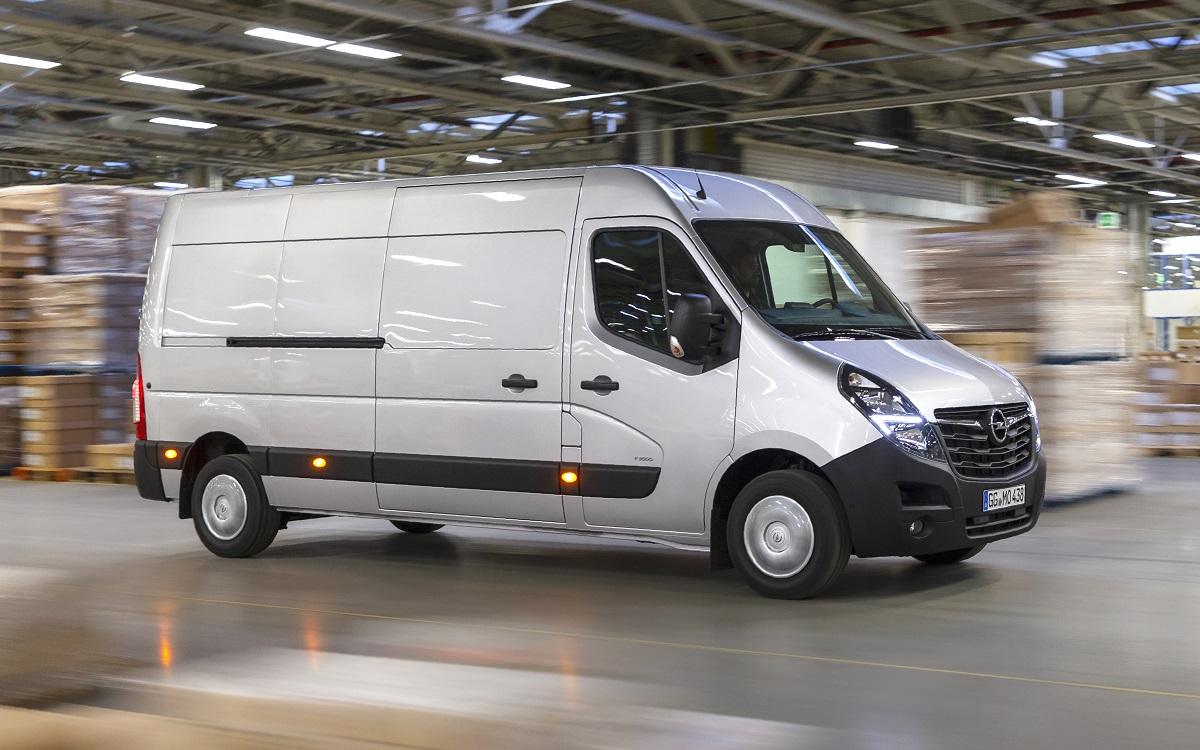 Новый Opel Movano расширяет свою гамму – больше мощности, больше выбора