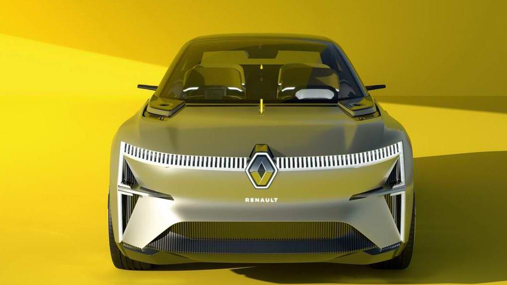 Renault частично раскрыла дизайн концептуального электрокара