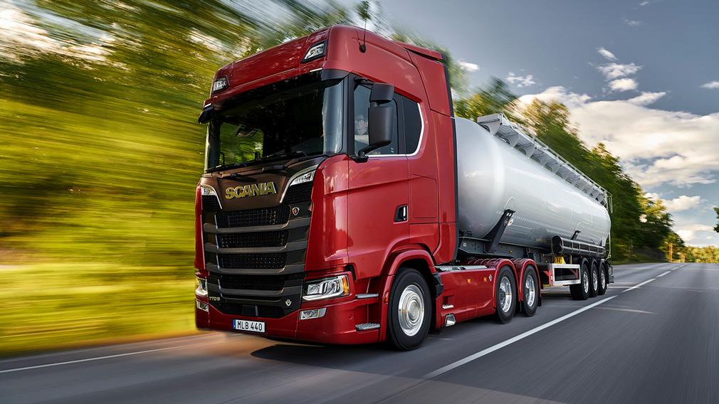 Scania показала флагманский вариант грузовика 770S
