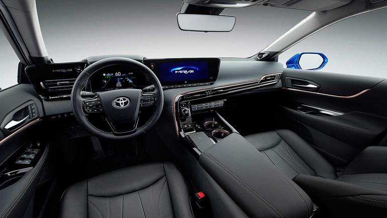 Toyota опубликовала тизер второго поколения водородной модели Mirai