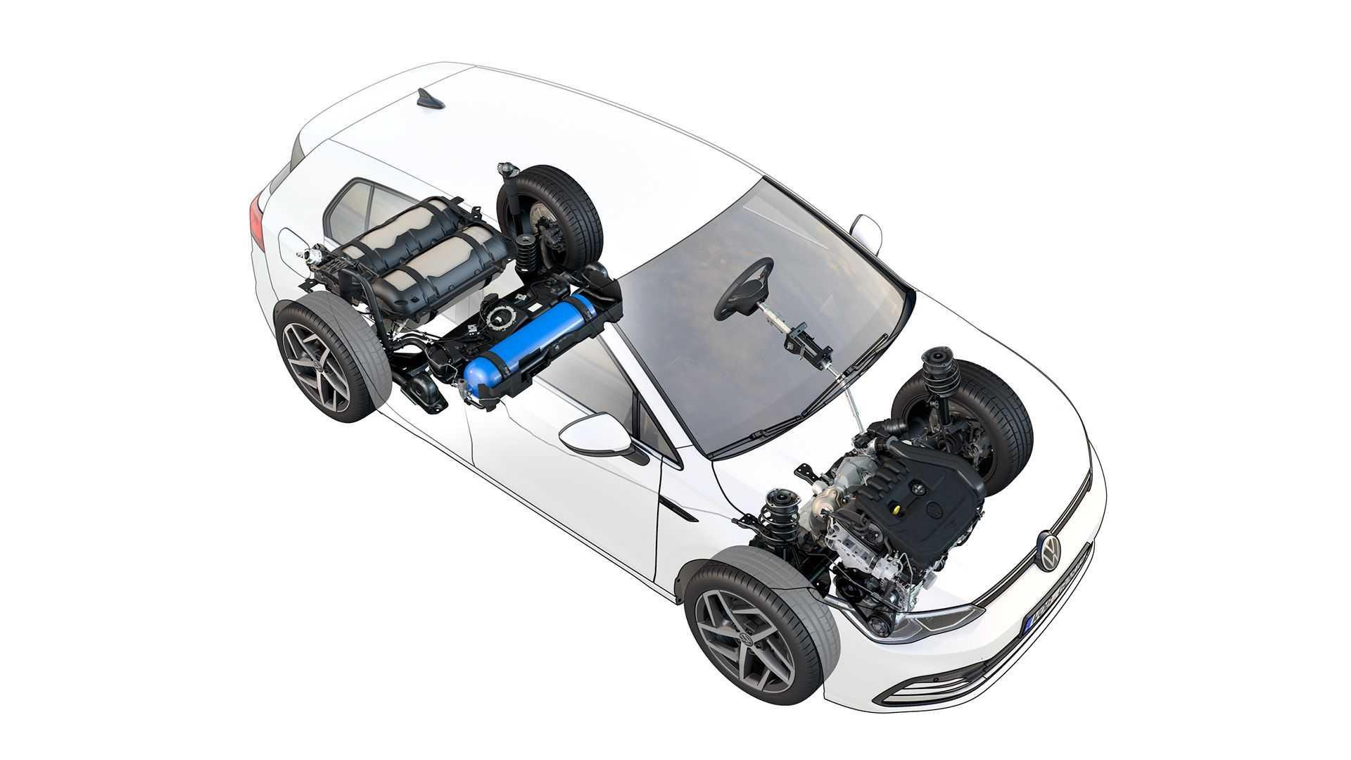 Volkswagen перевів нові хетчбек і універсал Golf на газ