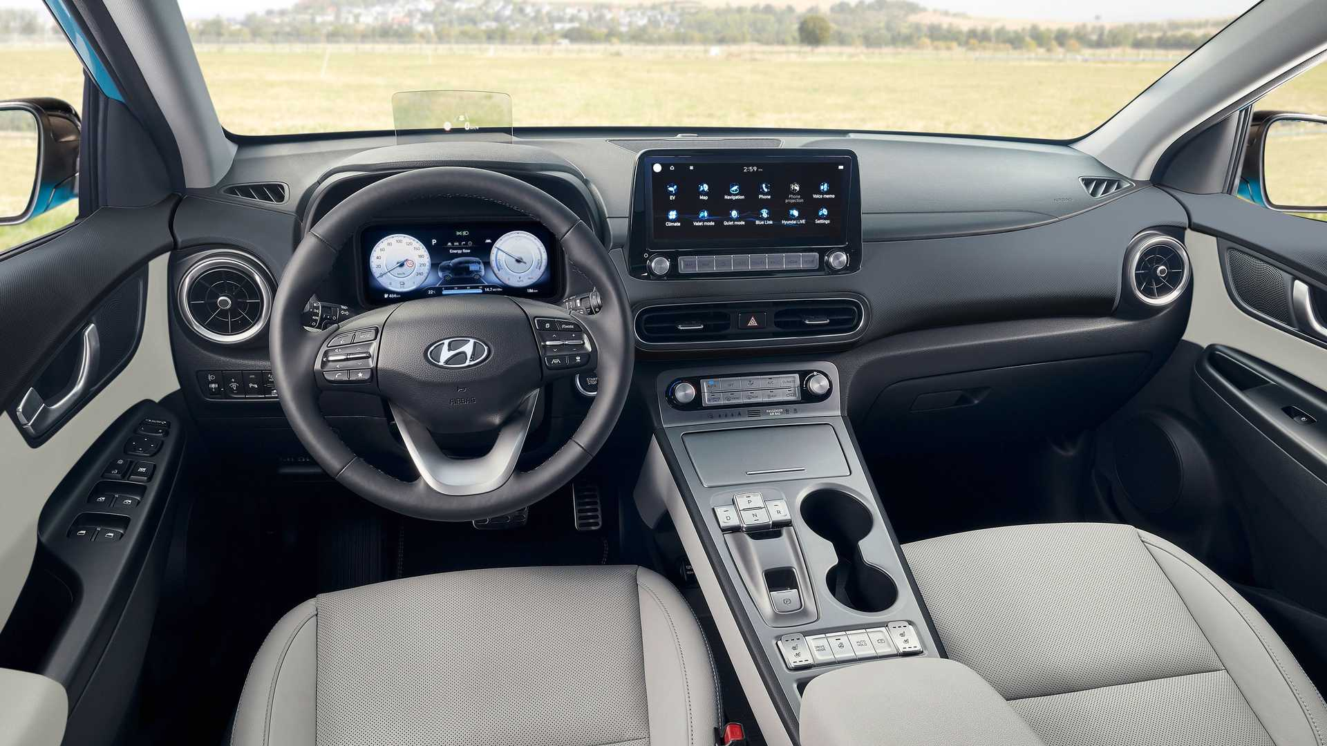 Hyundai Kona Electric став більше схожий на Tesla Model Y