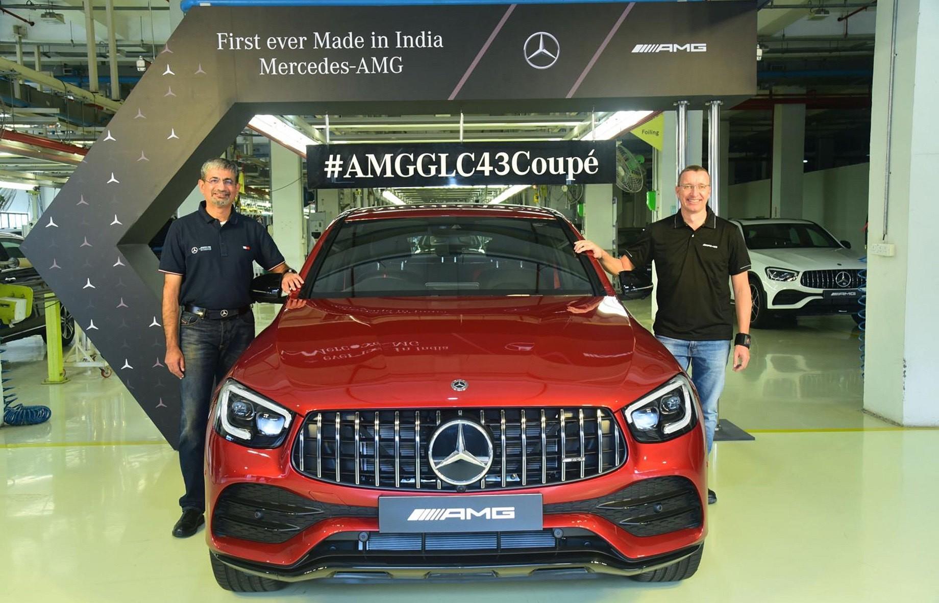 Mercedes-Benz начинает сборку AMG-моделей в Индии