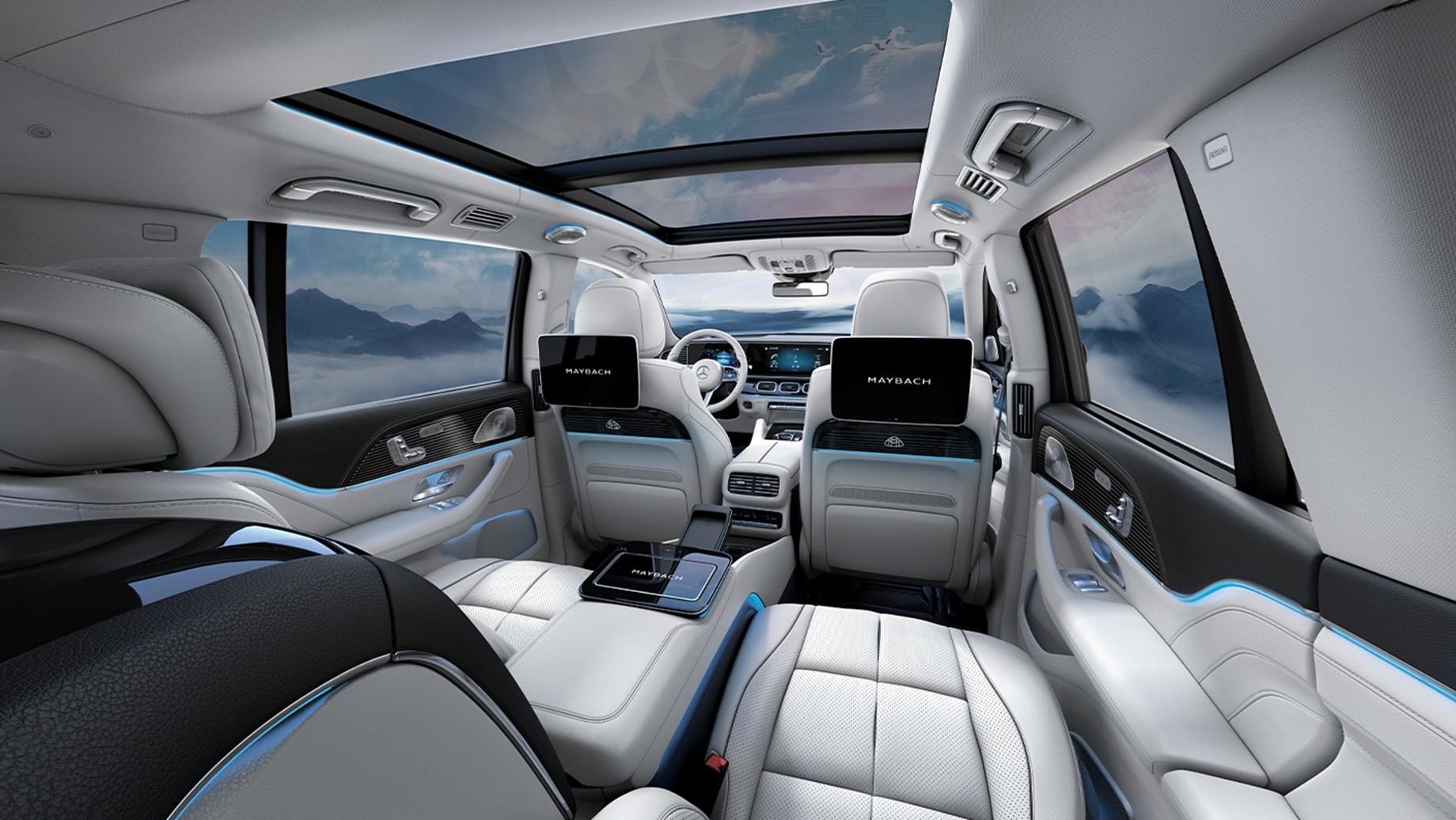 Mercedes представил новый Maybach GLS с шестицилиндровым мотором