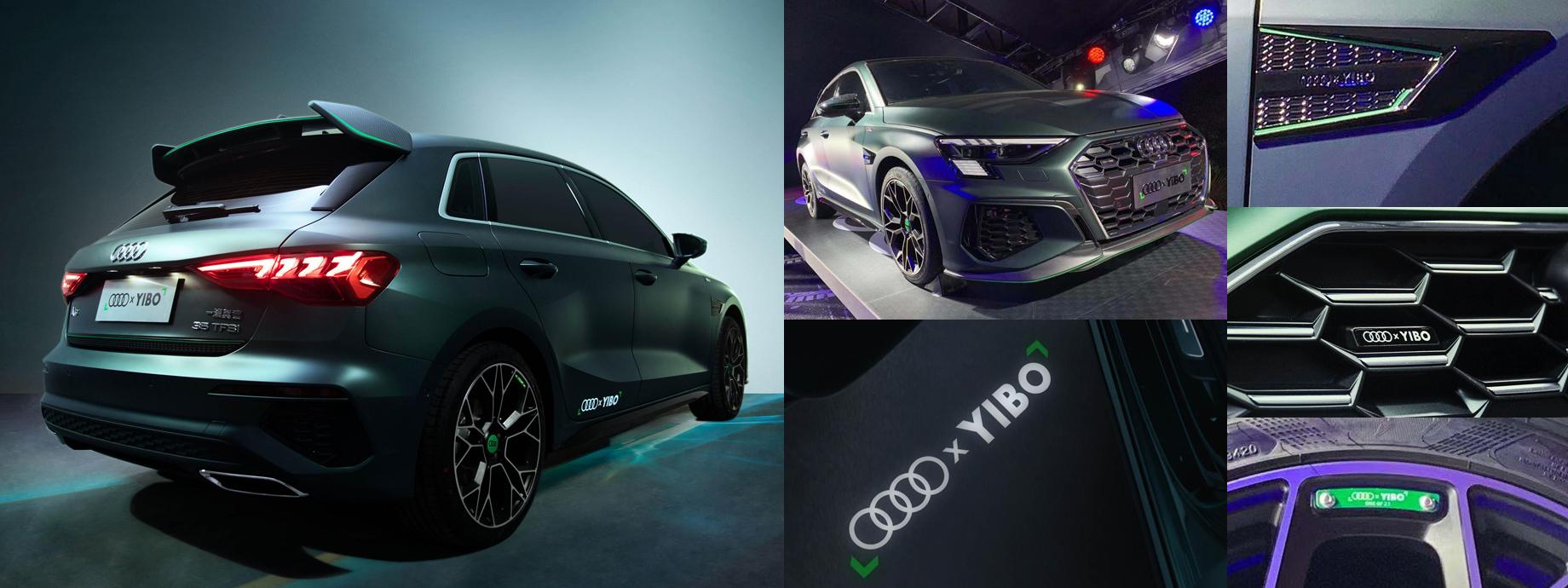 На автосалоне в Гуанчжоу представили хэтчбек Audi A3 Wang Yibo